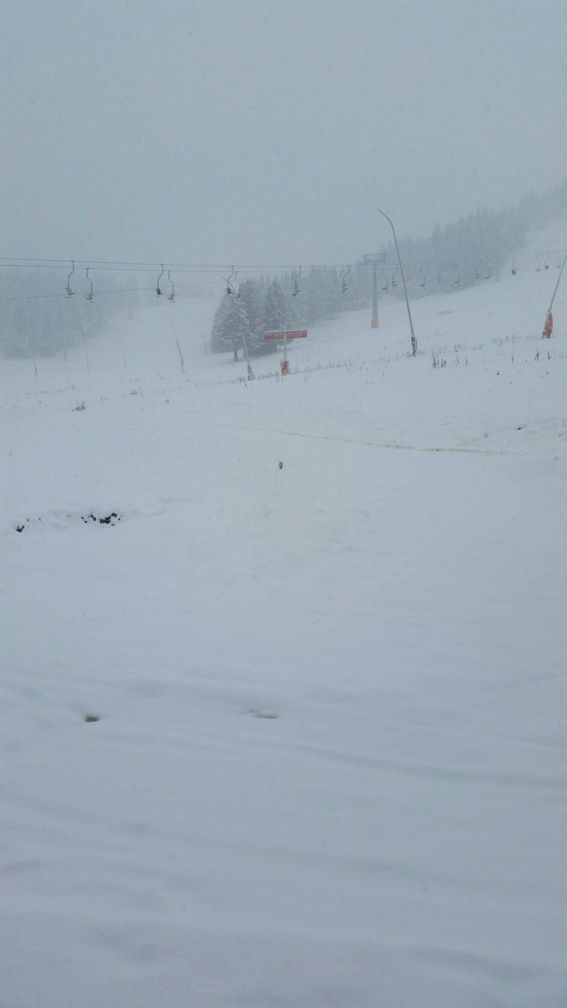 Szlovén havazás kezdődött