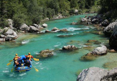 Rafting hétvége a Soca folyón